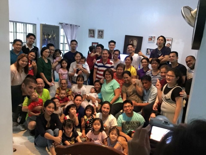 Last Christmas with my big Bautista family