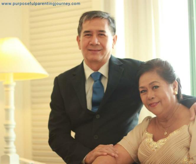Papa and Mama at my wedding.
