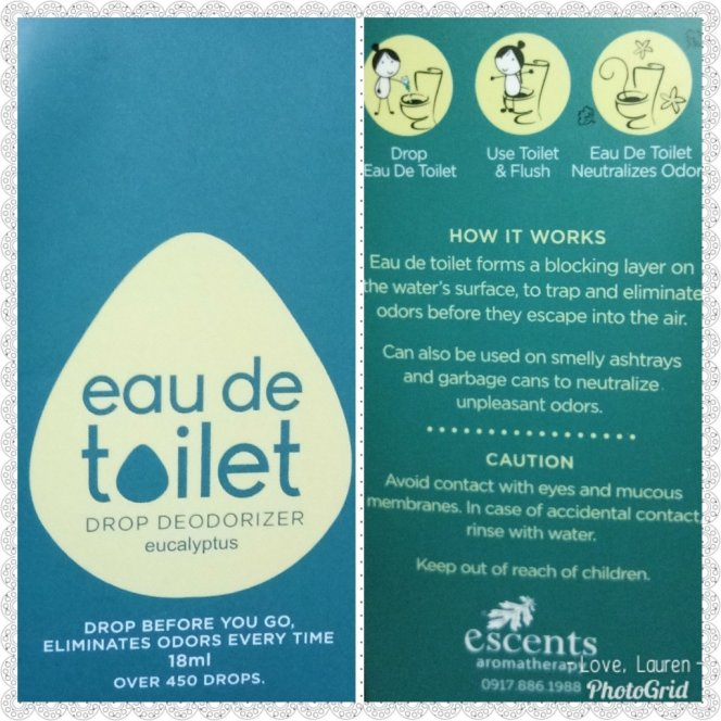 Box of Eau de Toilet in Eucalyptus