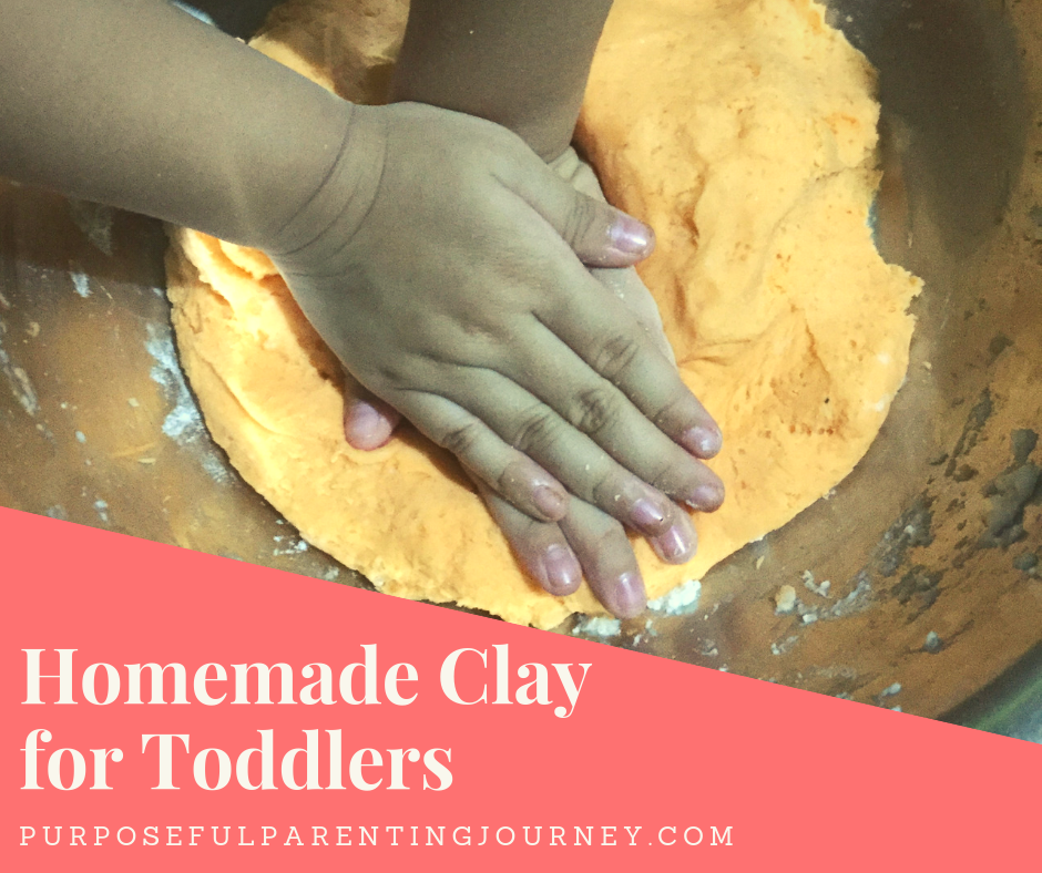 Food Grade Homemade Clay for Toddlers