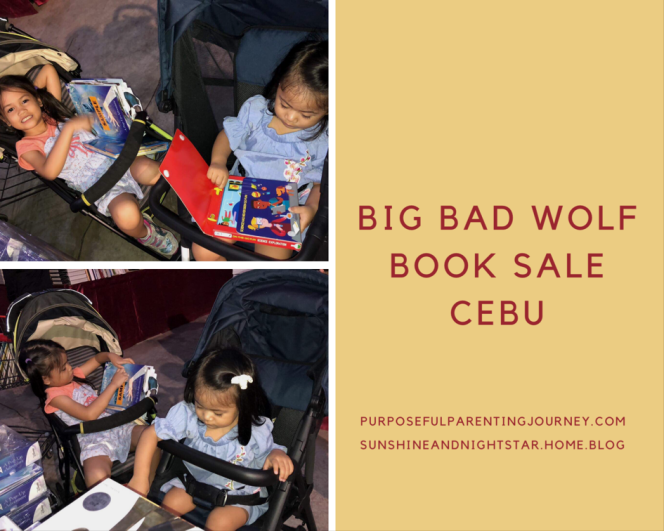 My nieces at the Big Bad Wolf Book Sale in Cebu. They seemed truly engrossed!